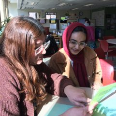 photo of a tutoring session
